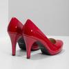 Červené lodičky z lakované kůže insolia, červená, 728-5104 - 16