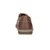 Hnědé kožené pánské polobotky bata, hnědá, 826-4654 - 15