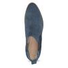Modré kožené Chelsea kozačky bata, 593-9614 - 17