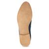 Modré kožené Chelsea kozačky bata, 593-9614 - 18