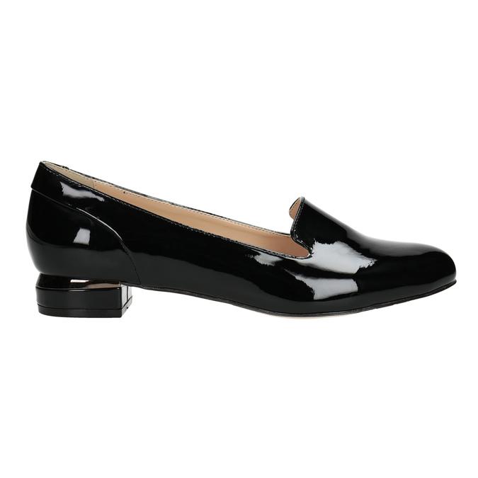 Dámské Loafers na nízkém podpatku bata, černá, 511-6608 - 26