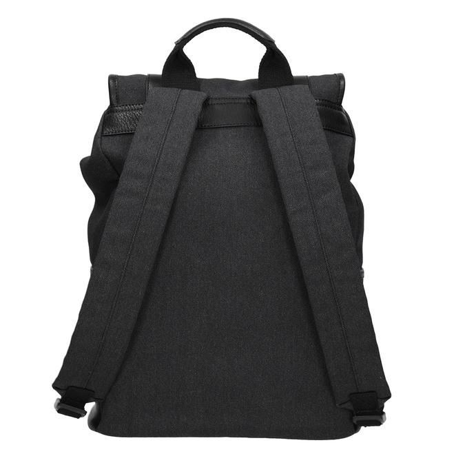 Unisex batoh s přezkami atletico, černá, 969-6678 - 16