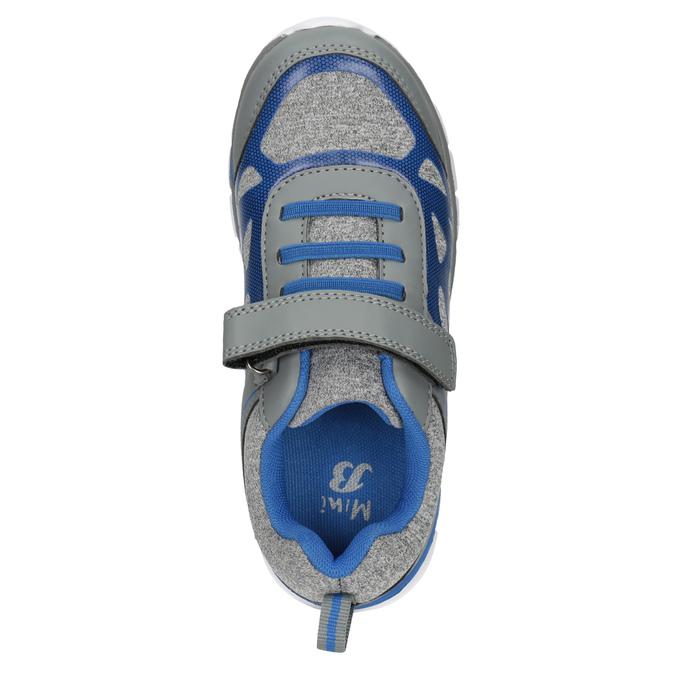 Dětské sportovní tenisky mini-b, šedá, 319-2148 - 15