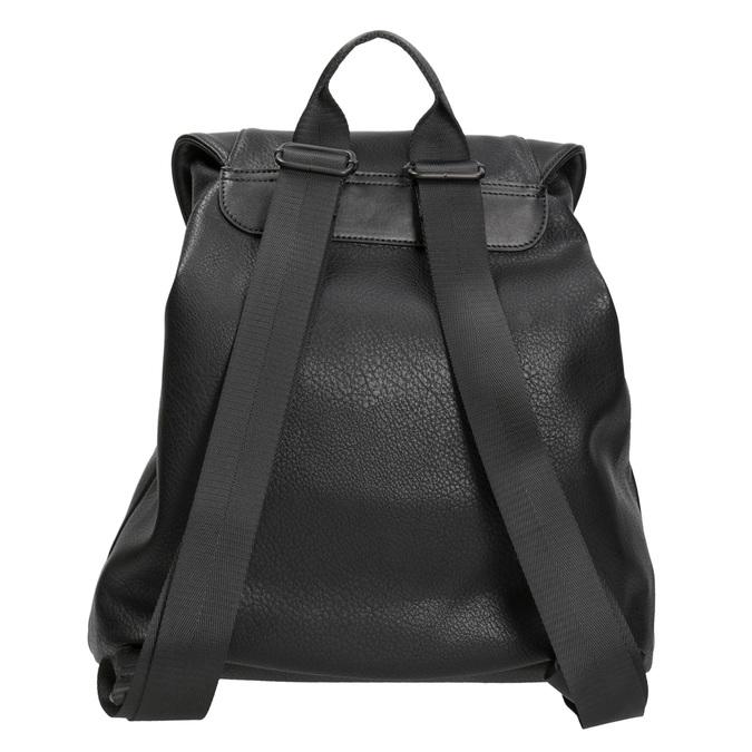 Černý dámský batoh bata, černá, 961-6833 - 16