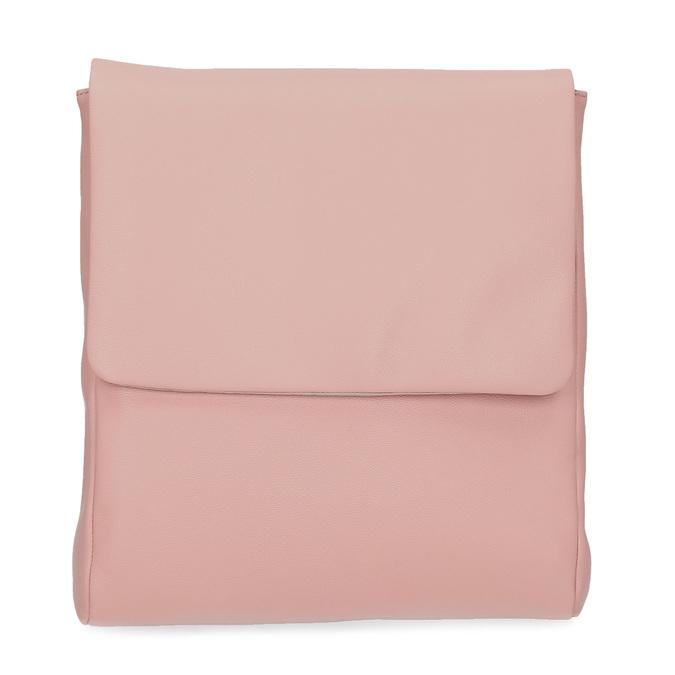 Růžová kožená Crossbody taška vagabond, růžová, 966-8064 - 26
