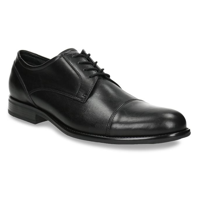 Kožené pánské Derby polobotky bata, černá, 824-6995 - 13