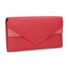 Dámská kožená peněženka bata, červená, 944-5211 - 13