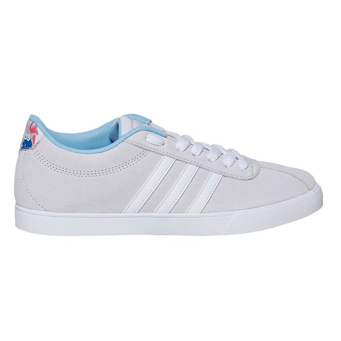 Dámské šedé tenisky adidas, šedá, 501-2229 - 15