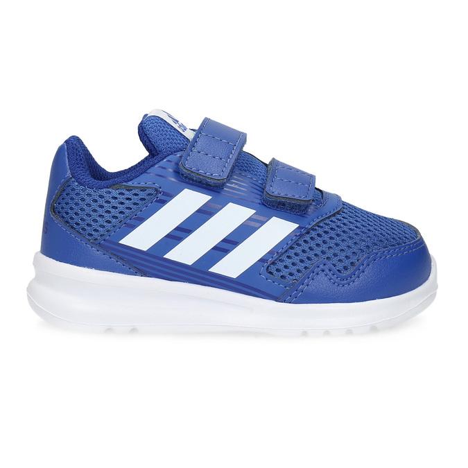 Modré dětské tenisky adidas, modrá, 109-9147 - 19