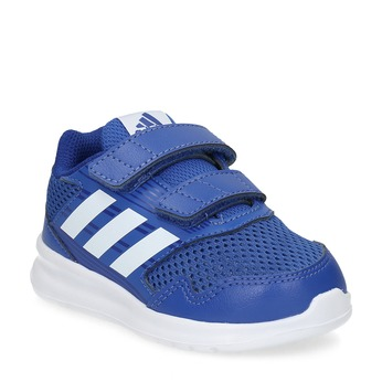 Modré dětské tenisky adidas, modrá, 109-9147 - 13