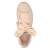 Růžové tenisky se saténovou mašlí pepe-jeans, růžová, 541-5076 - 17