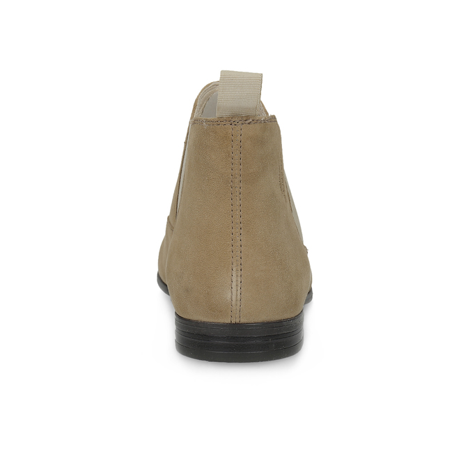 Kožené kotníčkové Chelsea Boots vagabond, hnědá, 513-4098 - 15