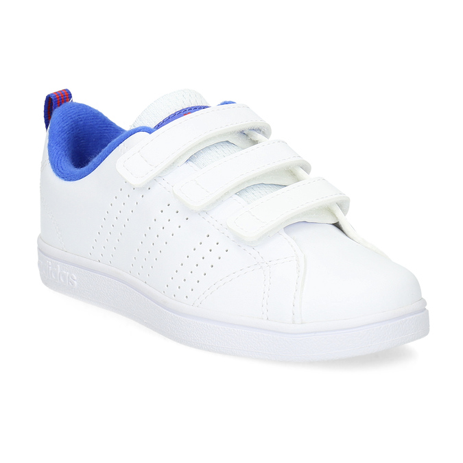 6a6ac502945 Adidas Bílé dětské tenisky na suché zipy - Všechny chlapecké boty ...