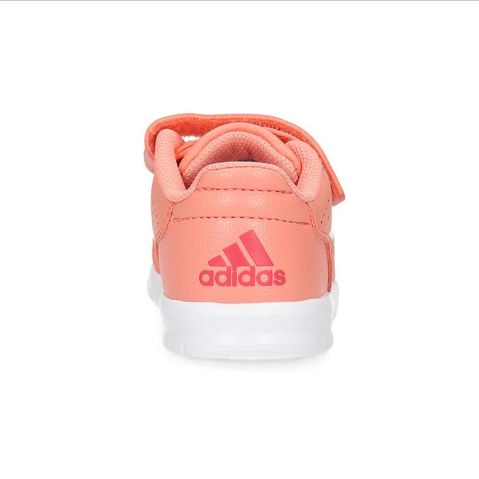 Dívčí růžové tenisky na suché zipy adidas, oranžová, 101-5151 - 15