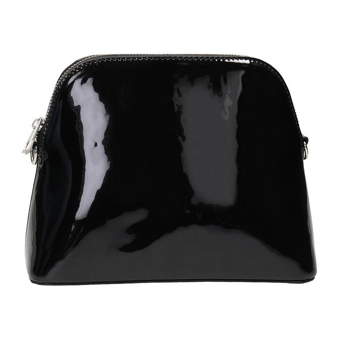 Lakovaná černá kabelka bata, černá, 961-6850 - 26