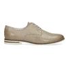 Kožené dámské polobotky bata, béžová, 526-8650 - 19