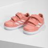 Dívčí růžové tenisky na suché zipy adidas, oranžová, 101-5151 - 16