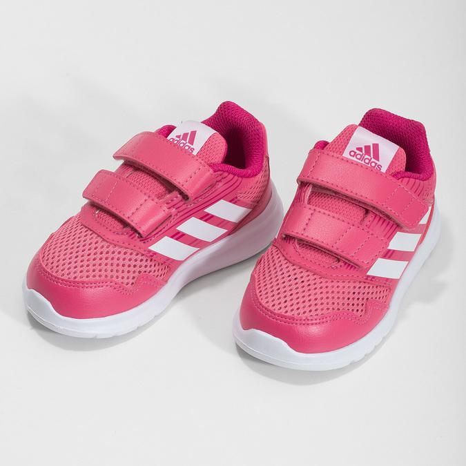 Růžové dětské tenisky adidas, růžová, 109-5147 - 16