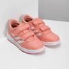 Dětské tenisky v lososové barvě adidas, růžová, 301-5151 - 26