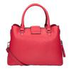 Červená dámská kabelka bata, červená, 961-5216 - 16