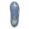 Modré dívčí tenisky s motýlky mini-b, modrá, 321-9618 - 15