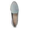 Kožená dámská Loafers obuv bata, modrá, 519-9605 - 17