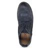 Kožená kotníčková obuv pánská modrá a-s-98, modrá, 826-9003 - 17
