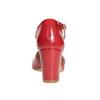 Lakované dámské lodičky insolia, červená, 721-5611 - 16