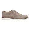 Pánské kožené Brogue polobotky bata, šedá, 823-2619 - 16