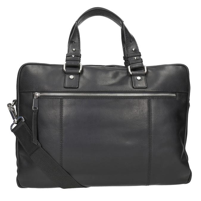 Kožená taška na dokumenty bata, černá, 964-6287 - 16