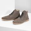 Pánská kožená kotníčková obuv bata, hnědá, 823-8629 - 16
