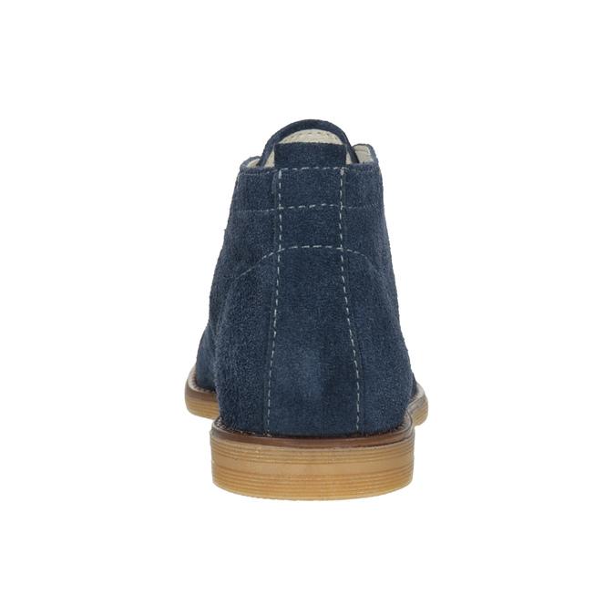 Kožené dětské Desert Boots mini-b, modrá, 313-9144 - 16