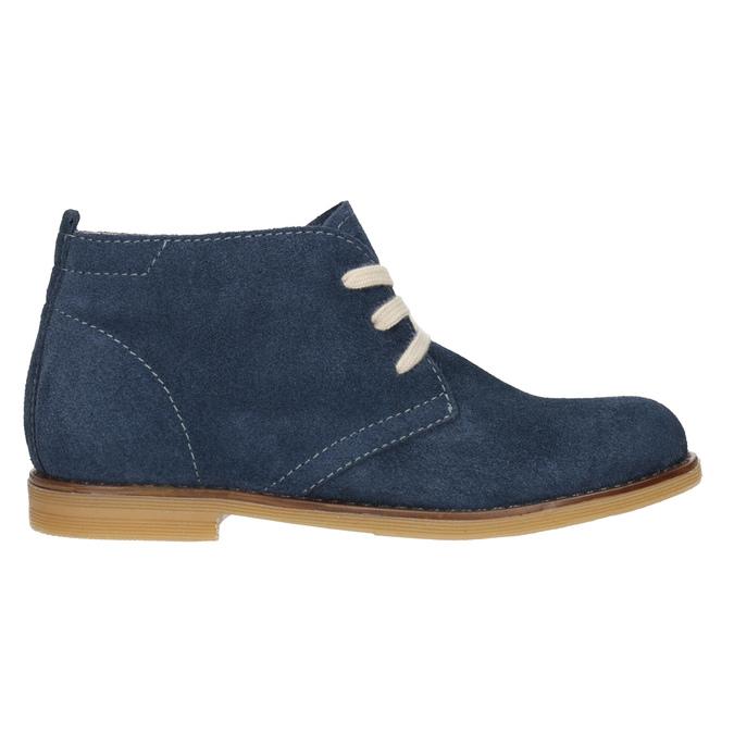 Kožené dětské Desert Boots mini-b, modrá, 313-9144 - 26