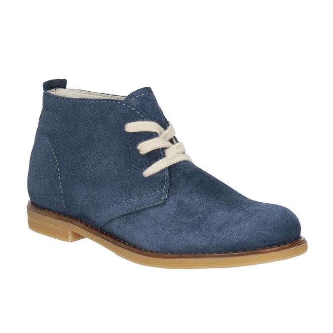 Kožené dětské Desert Boots mini-b, modrá, 313-9144 - 13