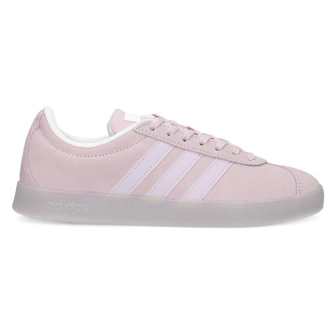 Růžové tenisky z broušené kůže adidas, růžová, 503-5579 - 19