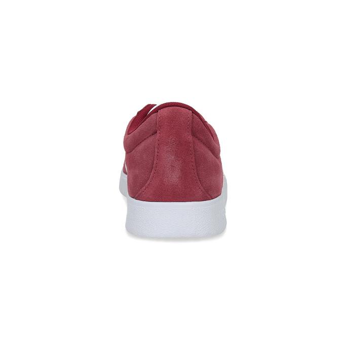 Červené pánské tenisky z broušené kůže adidas, červená, 803-5379 - 15