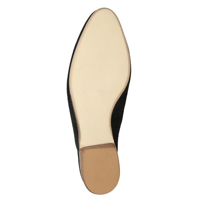 Kožené mokasíny s volnou patou bata, 516-6620 - 17