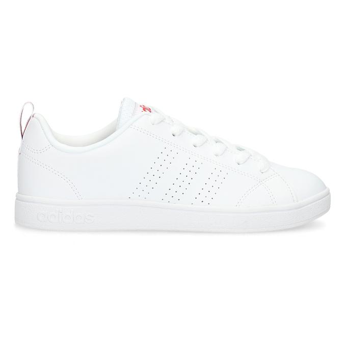 Bílé dámské tenisky adidas, bílá, 501-5500 - 19