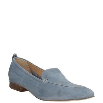 Ležérní mokasíny z broušené kůže bata, modrá, 516-9618 - 13