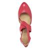 Červené kožené lodičky insolia, červená, 624-5643 - 15