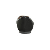 Baleríny se zlatou sponou bata, černá, 529-6638 - 16