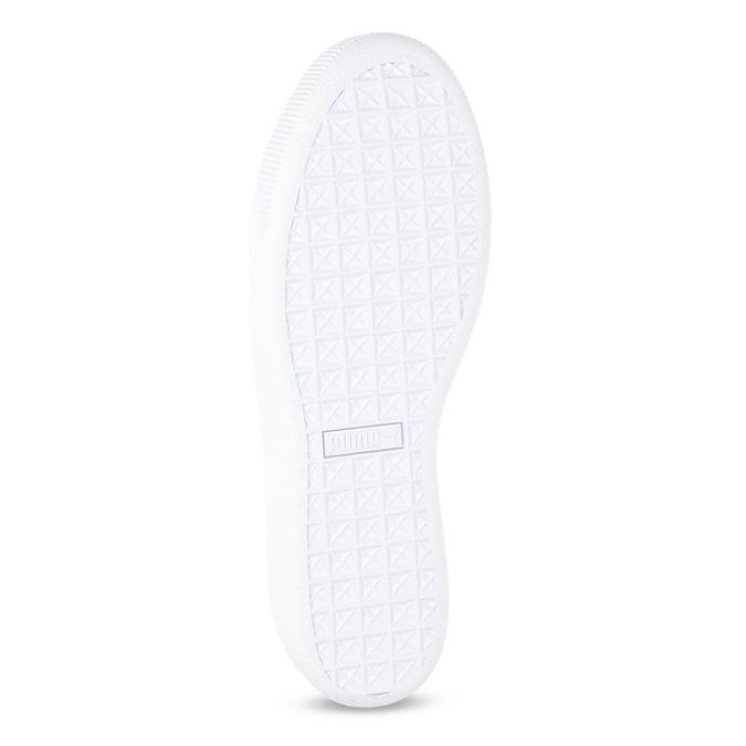 Bílé dámské tenisky na flatformě puma, bílá, 504-1704 - 18