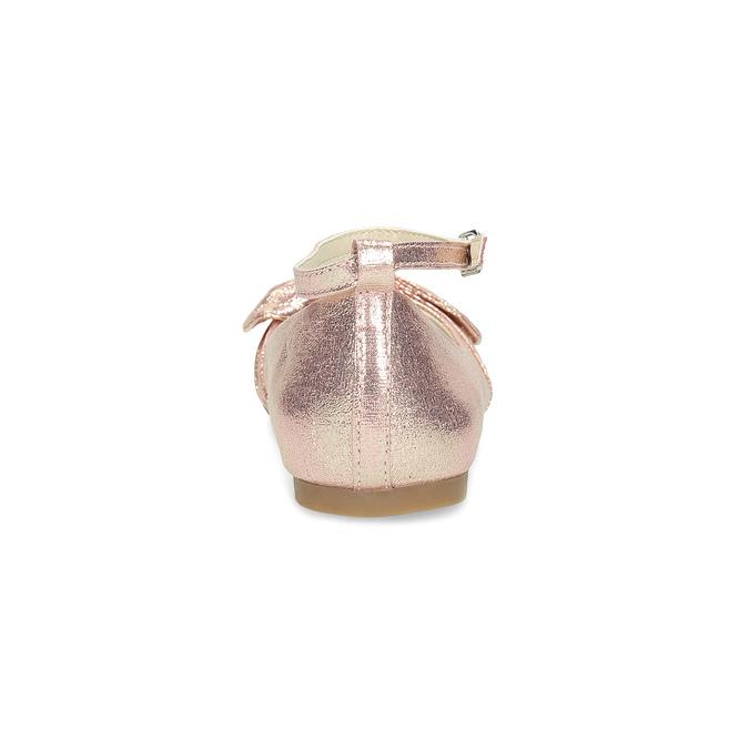Růžové baleríny s velkou mašlí mini-b, růžová, 329-5227 - 15