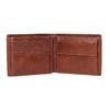 Hnědá kožená pánská peněženka bata, hnědá, 944-3191 - 15