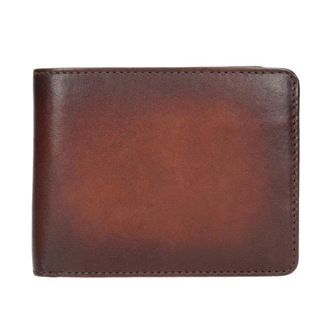 Pánská kožená Ombré peněženka bata, hnědá, 944-3193 - 26