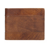 Pánská kožená peněženka s perforací bata, hnědá, 944-3192 - 26