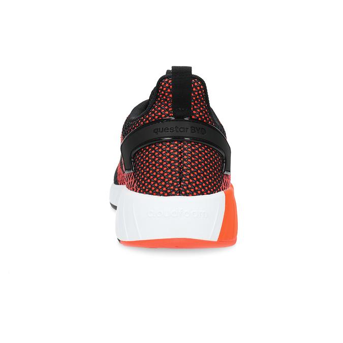 Oranžovo-černé pánské tenisky adidas, oranžová, 809-6479 - 15