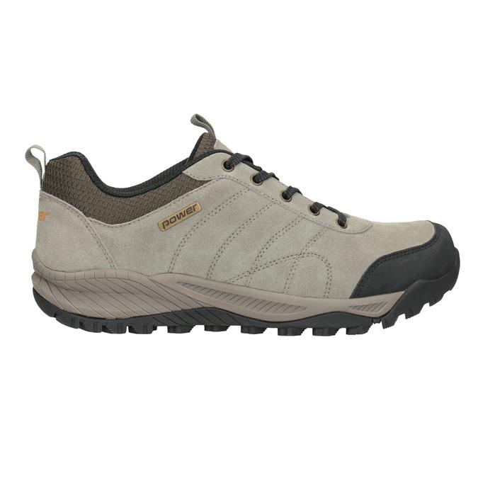 Kožená obuv v outdoor stylu power, hnědá, 803-3848 - 26