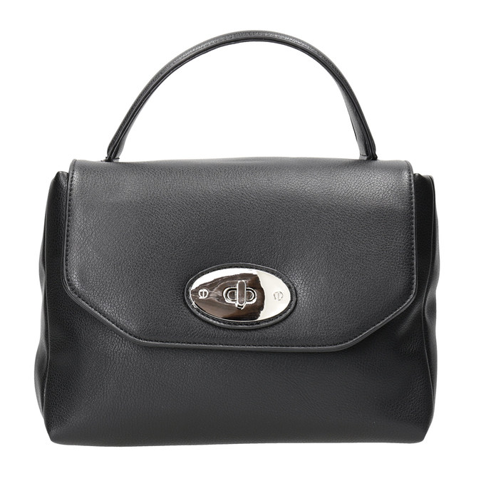 Černá dámská kabelka bata, černá, 961-6839 - 26