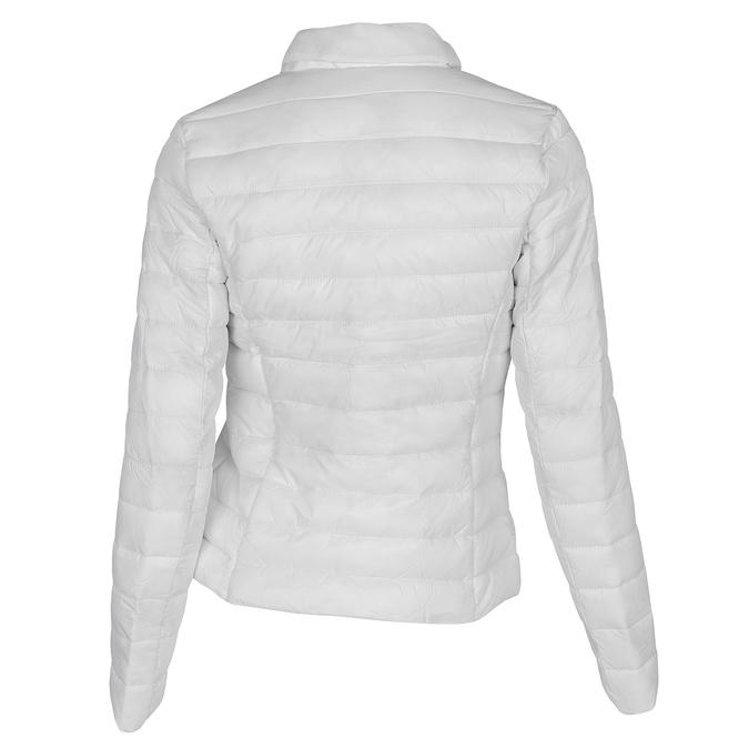 Bílá prošívaná bunda s límečkem bata, bílá, 979-1182 - 26